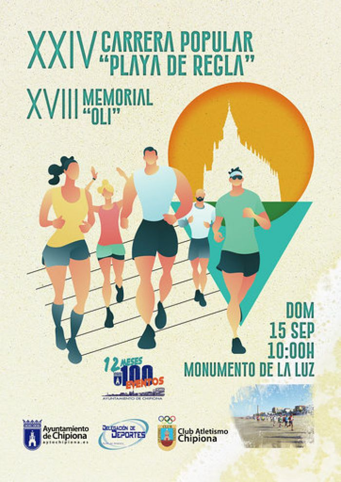 120 inscritos este domingo para la Carrera Playa de Regla Memorial Oli